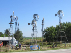 Windmills restored by Jim Boll.