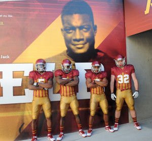 The throwback uniforms ISU wears against Iowa on September 9th will honor Jack Trice.