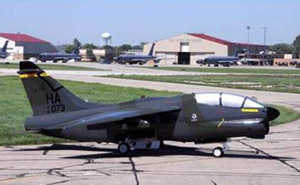 This jet will be airlifted from Sioux City to Camp Dodge in Johnston.