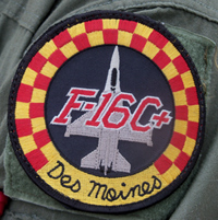 Patch worn by F-16 pilots.