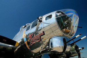 MidAmerican Air and Transportation Museum photo of the B-17 Sentimental Journey.