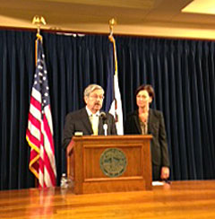 Governor Branstad, Lt. Governor Reynolds. (file photo)