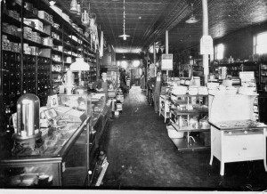 Inside the New Providence Hardware store in 1929.