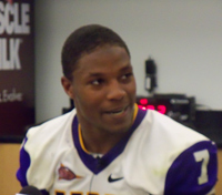 David Johnson rushed for 199 yards and scored 4 touchdowns against ISU.