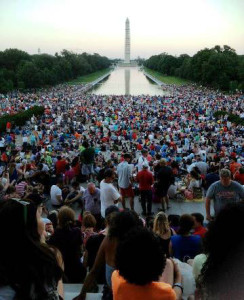 An event at the National Mall.