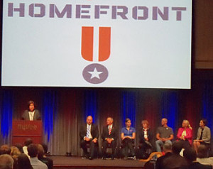 Launch announcement of the Hy-Vee Homefront program.