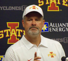 Paul Rhoads after the Texas loss.