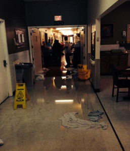 A broken water pipe caused major problems at the Norwalk Nursing and Rehabilitation Center.