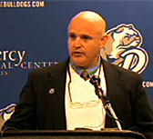 Drake football coach Rick Fox. (file photo)