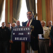 Congressman Bruce Braley.