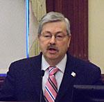 Governor Branstad.