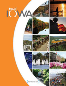 Cover of the 2014 Iowa Travel Guide.