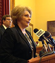 House Republican leader, Linda Upmeyer.