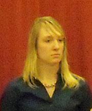 ISU student body president, Hillary Kletscher.