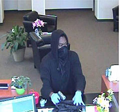 Bank robbery at 129 16th Ave SW on April 30.