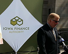 Dave Jamison of the Iowa Finance Authority.