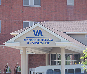 The Veterans Administration Hospital in Des Moines.