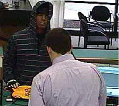 Bank robbery at 2350 Edgewood Rd. SW on April 28.
