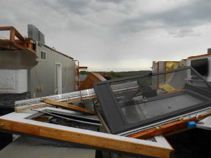 A tornado at Lake Panorama damaged several homes.