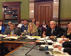 Legislators hear testimony on the Iowa Veterans Home.