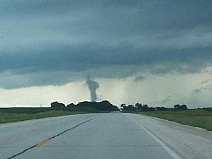 Tornado near Stanhope.