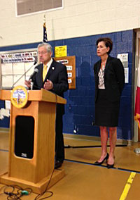 Governor Terry Branstad and Lt. Governor Kim Reynolds.