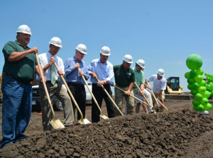 Groundbreaking ceremony for the new Greene County casino.