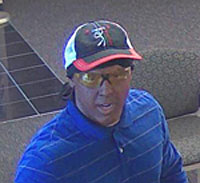 Bank photo of robber.