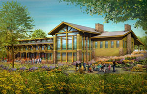 Proposed Jester Park Conservation Center in Polk County.