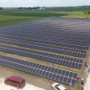 The state's largest solar farm is located south of Iowa City and north of Kalona.