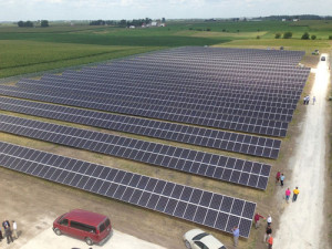 State's largest solar farm open for business near Kalona