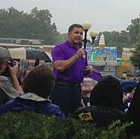 Bruce Braley at the Iowa State Fair.