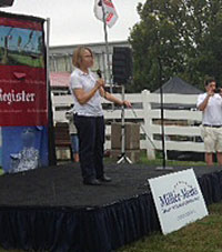 Marianette Miller-Meeks at the Iowa State Fair.