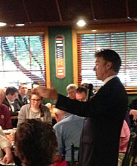 Rand Paul speaks to the Westside Conservative Club.