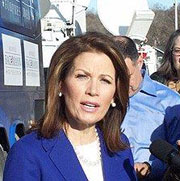 Michele Bachman at a 2011 news conference.