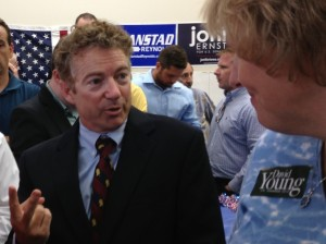 Kentucky Senator Rand Paul (file photo)