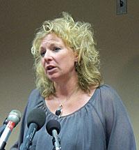 Deputy State Epidemiologist Ann Garvey.