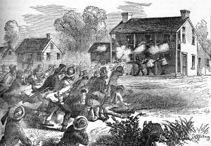 Artist image of Bellevue war.