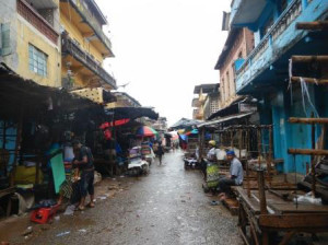 District of Bo where Dr. Koirala worked in Sierra Leone.