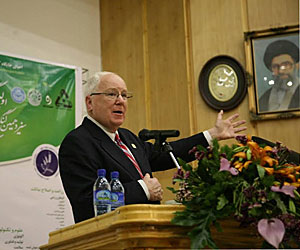 Kenneth Quinn in Iran.