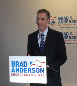 Brad Anderson (file photo)