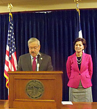 Governor Terry Branstad and Lt. Governor Kim Reynolds have both already voted.