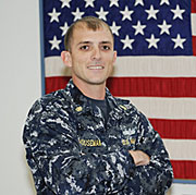 Chief Petty Officer Robert Houseman.