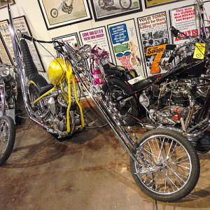 The National Motorcycle Museum is looking for more choppers for an exhibit on the bikes.