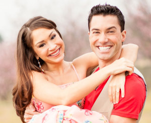 Diana DeGarmo and Ace Young.