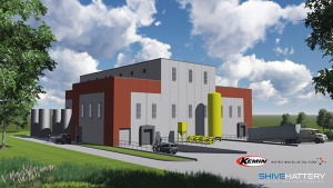 Kemin's new facility will look like this when completed.