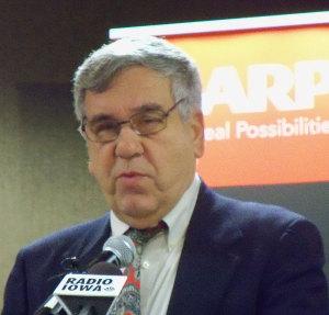 Iowa AARP president, Tony Vola.