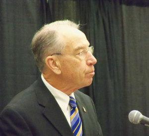 Senator Chuck Grassley.