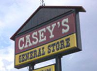 Caseys-sign