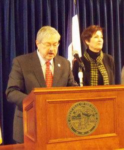 Governor Terry Branstad and Lt. Governor Kim Reynolds.